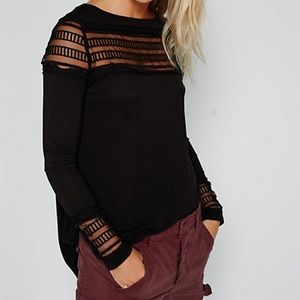 Free People Roxie tee
